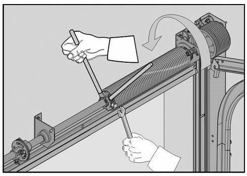 регулировка гаражных ворот своими руками